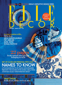 {Featured} Elle Decor India