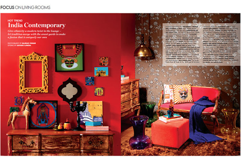 featured elle decor india march 2013