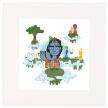 Krishna Mounted Art