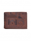 Maps of Masonry Mens Leather Wallet