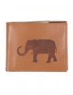 Dandy Elephant Mens Leather Wallet