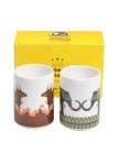 Dandy Animals Chai Mug Set