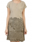 Sacred Monkey Forest Straight Dress