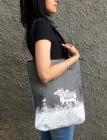 Dandy Cow Emb Tote bag