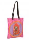 Bride Groom City Tote Bag