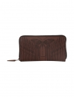 Butterfly Leather Emb Wallet