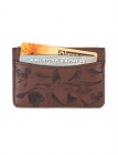 Birds Leather Card Case