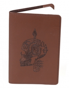 Skull Pocket Journal