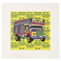 Truck Tircha Mounted Art
