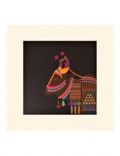 Royal Cow Mounted Art