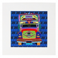 Truck Agee Mounted Art