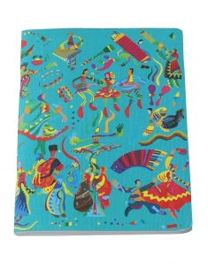 Folk Dance Journal (Size A-5)