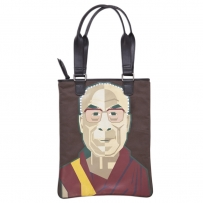 Lama Zipper Tote Bag