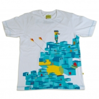Blue City Men's Tee