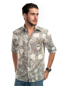 Buddha Men's Shirt