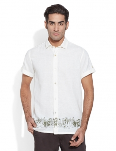 Sangha Border Men's Shirt