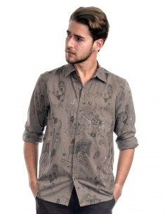 Our People with Our Animals Mens Shirt