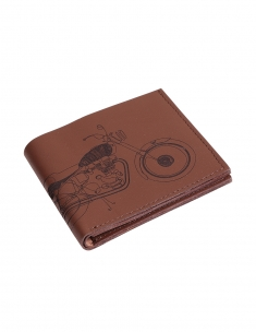 Bullet Mens Leather Wallet