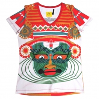 Kathakali Women's Graphic T-shirt
