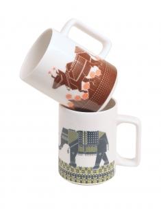 Dandy Animals Chai Mug Set