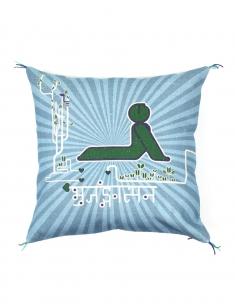 Bhujangasana Cushion Cover