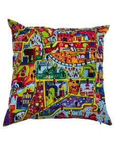 Purani Dilli Cushion Cover