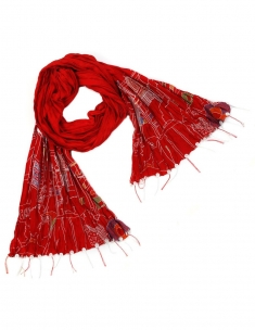 Old Delhi Embroidered Scarf