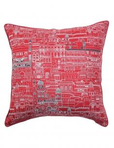 Haveli Emb. Cushions Cover