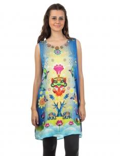 Nazarbattu Emb. Slip Dress