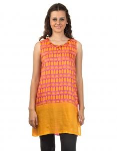 Jharokha Emb. Slip Dress