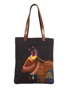 Royal Cow City Tote Bag