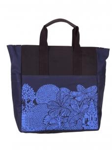 Monkey Forest Market Tote Bag