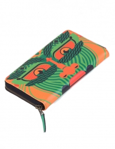 Kathkali Fulll Zipper Wallet