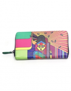 Konkani Full Zipper Wallet