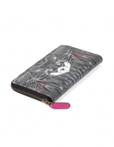 Cat Full Zipper Wallet