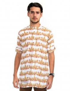 Cow Herd Kurta Long