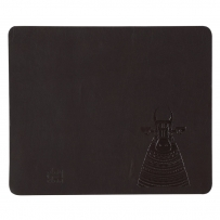 Nandi  Leather Mouse Pad