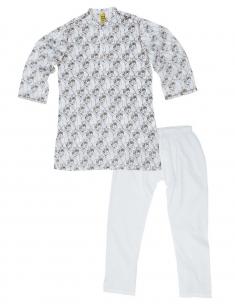 Twin Horse Kids Kurta Pyjama