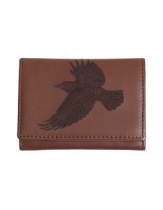 Avian Song Leather Card Wallet