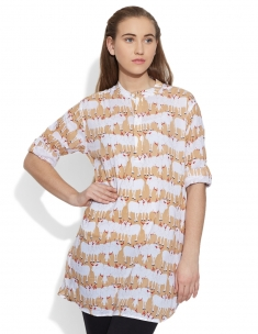 Cow Herd Long Kurta