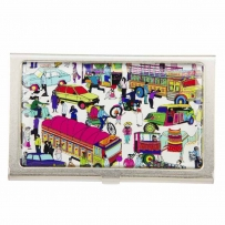 Traffic Jam Visiting Card Holder