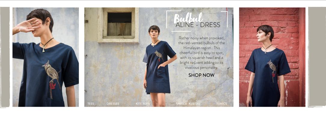 Bulbul Aline Dress