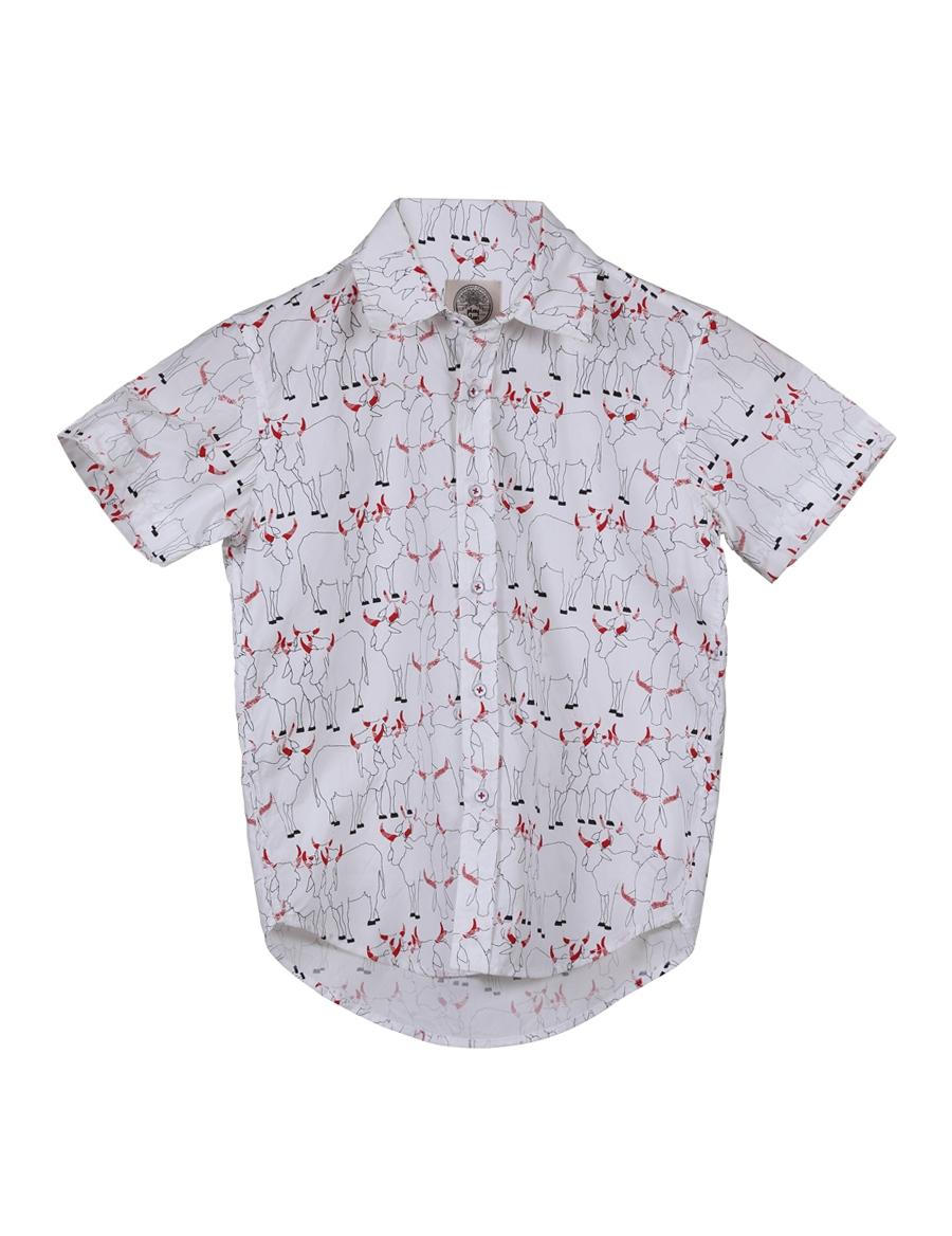 Cowherd Kid's Shirt