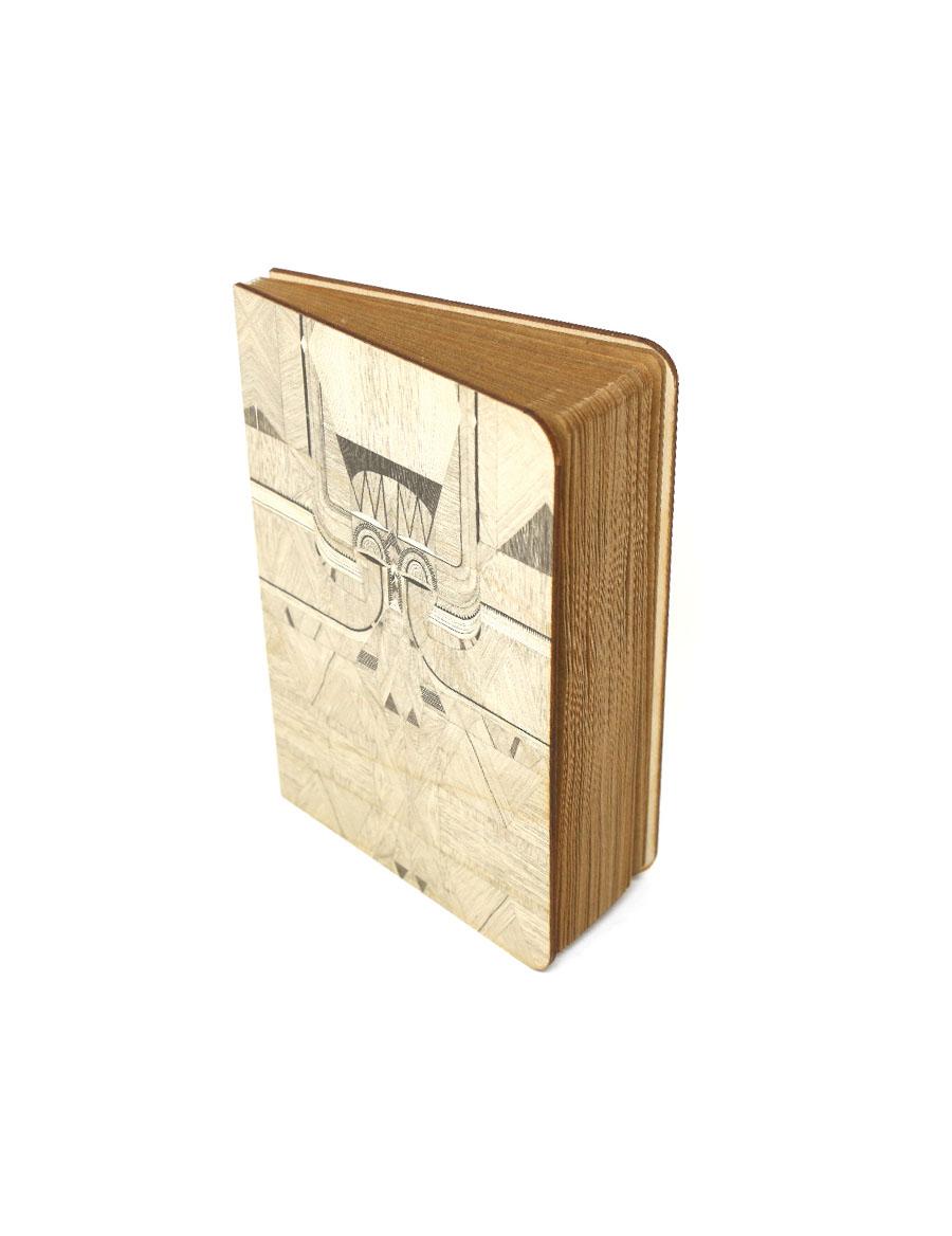 Tribal Mask Wood Journal