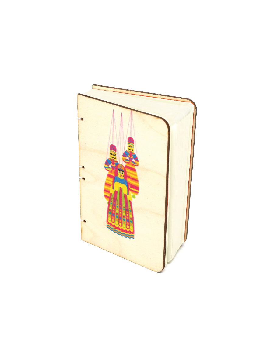 Kathputli Bahi Wood Journal