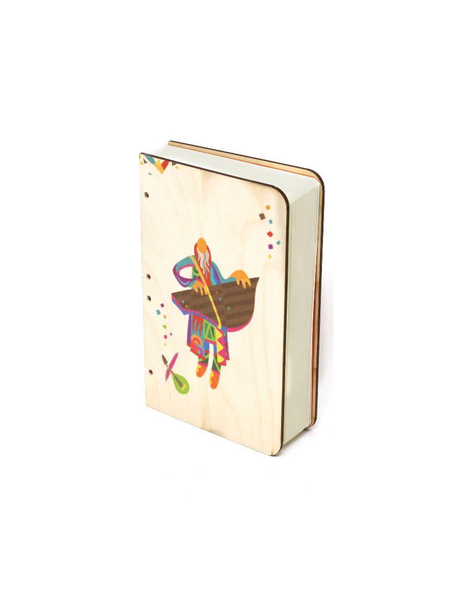 Gusli of Boyan Bahi Wood Journal
