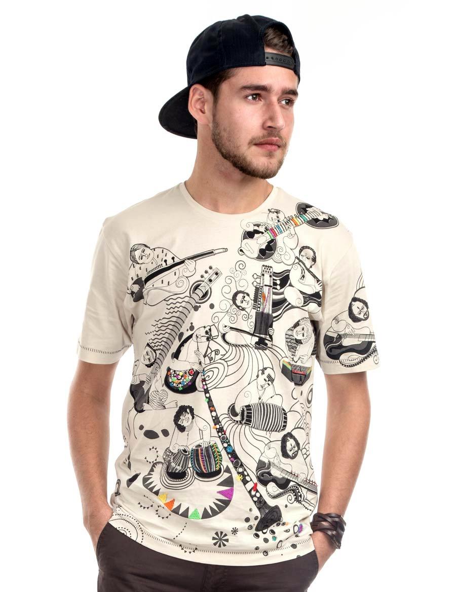 Sangeetkar Men's Graphic T-shirt