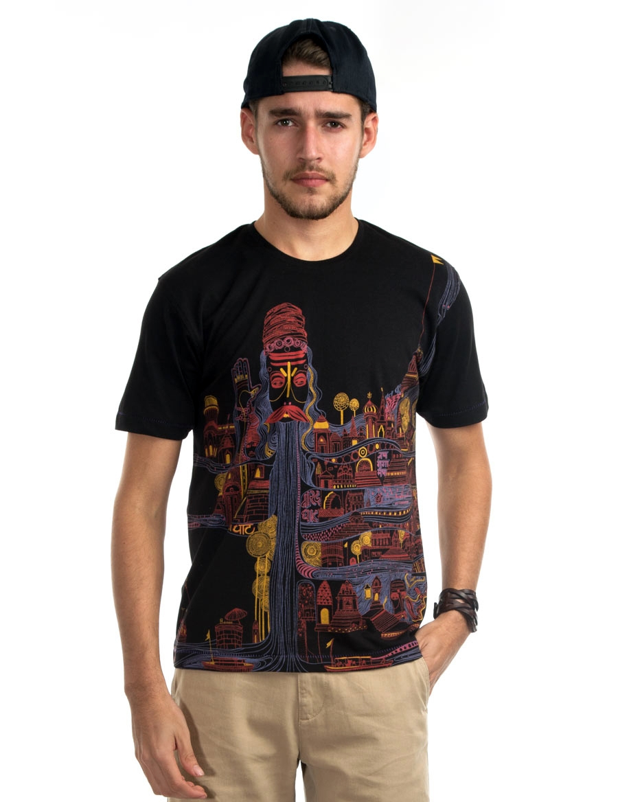 Kashi Men's Graphic Tee