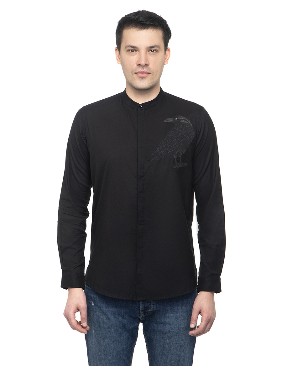 Crow Men's Shirt