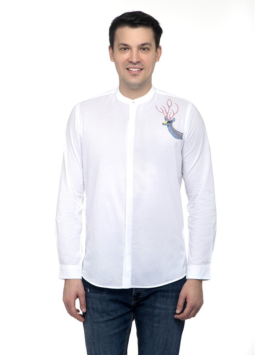 Folk Stag Men's Shirt